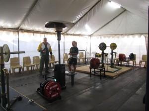 Lämmittelytilat olivat teltassa